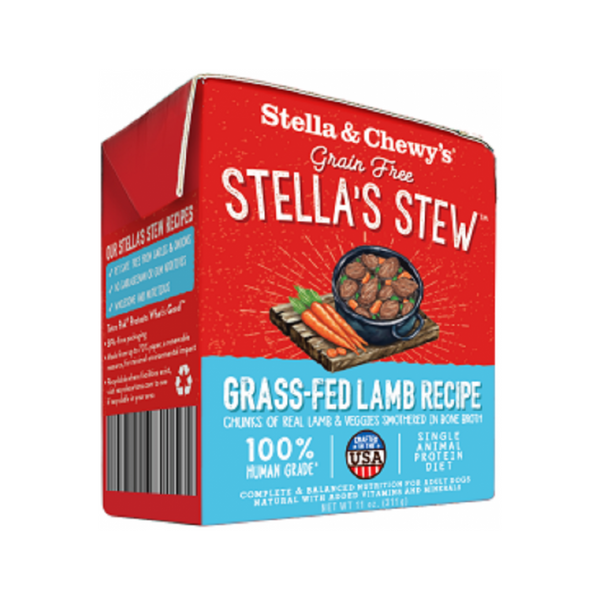 Grass-Fed Lamb Stew For Dogs, 11oz