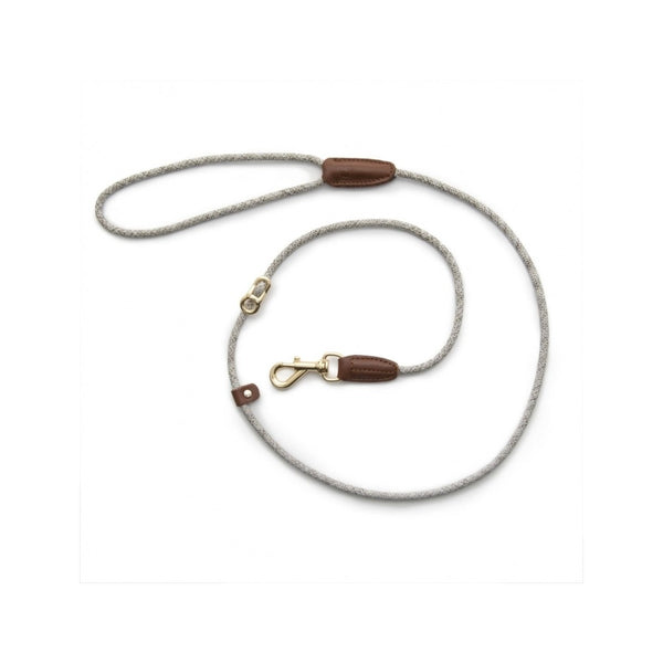 "Leader Leash Metropolitan Length, Color Beige, 49"" 5mm"