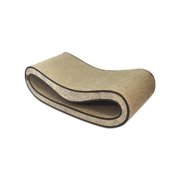 Leeloo Cat Scratcher, Color: Brown