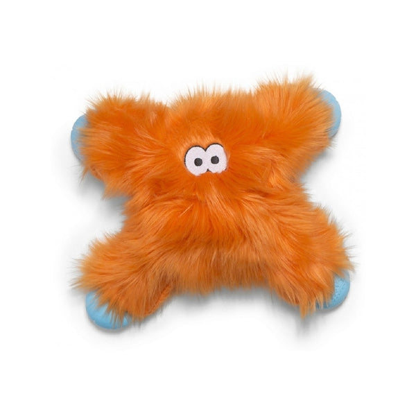 Rowdies Lincoln Dog Plush Toy, Color: Orange Fur