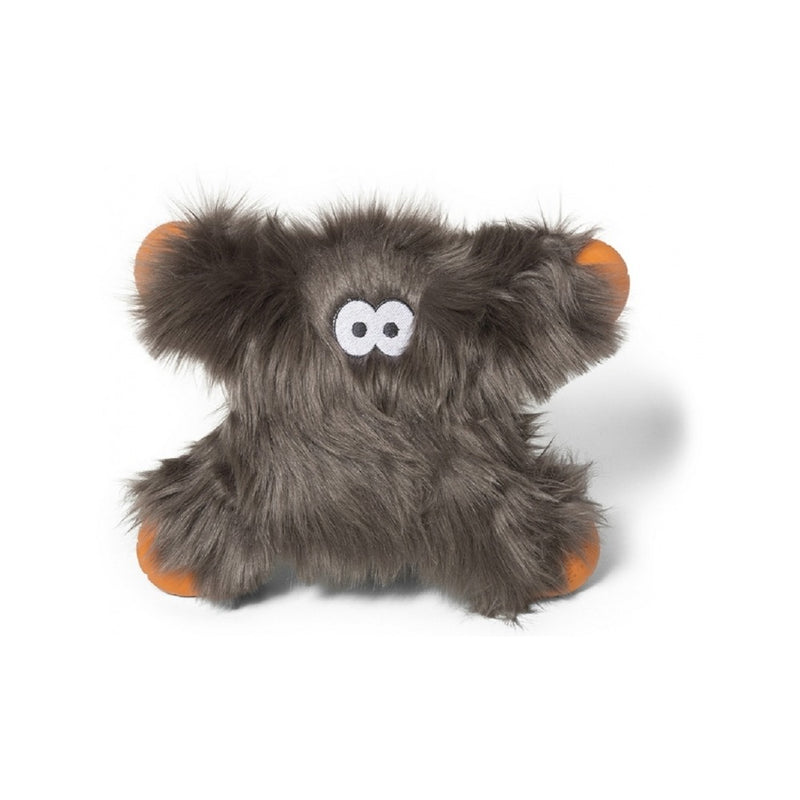 Rowdies Lincoln Dog Plush Toy, Color: Pewter Fur