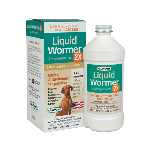 Liquid Wormer Pyrantel Pamoate, 8oz