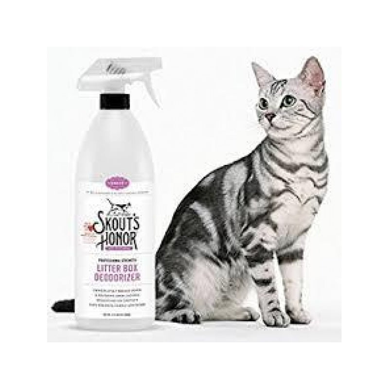 Professional Strength Litter Box Deodorizer Weight : 32oz