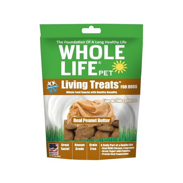 Living Treats Real Peanut Butter, 3oz