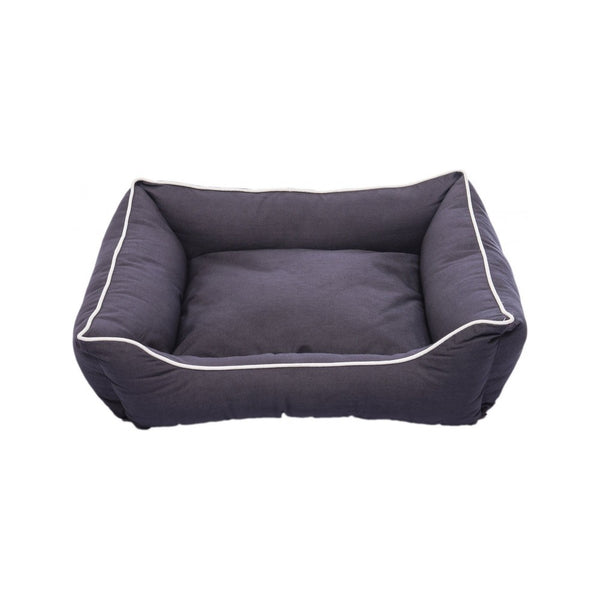 Lounger Bed, Color Grey, Large