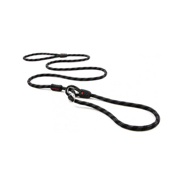 Luca Collar Leash Combo 9mm, Color: Black