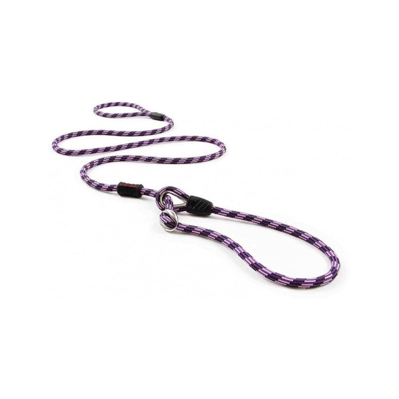 Luca Collar Leash Combo 9mm, Color: Purple