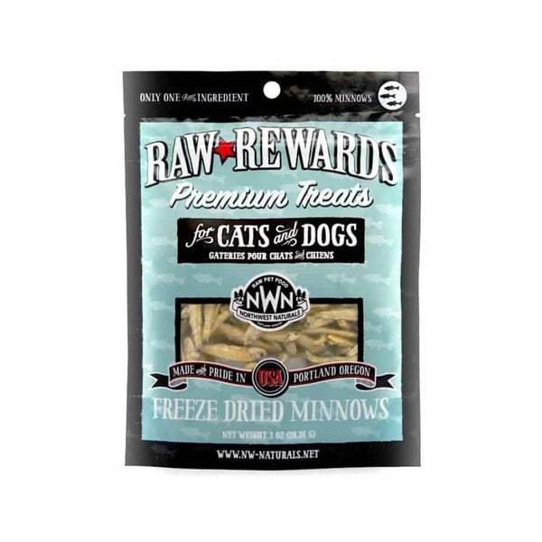 Treats - Freeze Dried Minnows Weight : 1oz