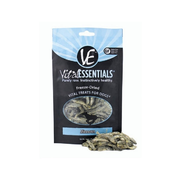Freeze-Dried Vital Minnows Treats for Dogs Weight : 1oz