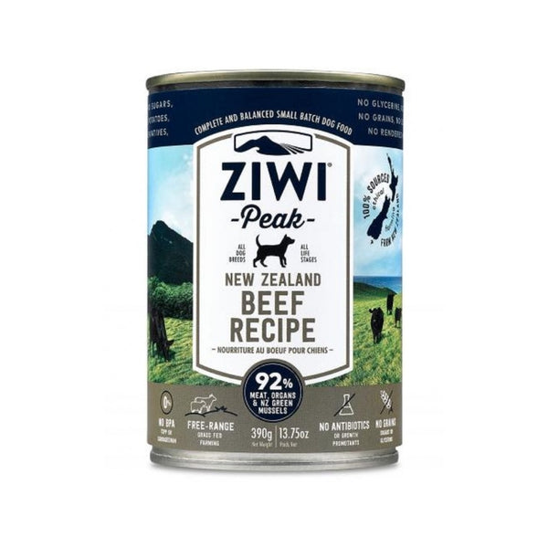 Beef Recipe Wet Dog Food, 390g