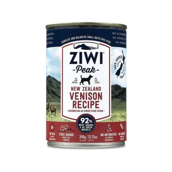 Venison Recipe Wet Dog Food, 390g