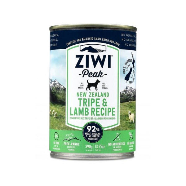 Tripe & Lamb Recipe Wet Dog Food, 390g