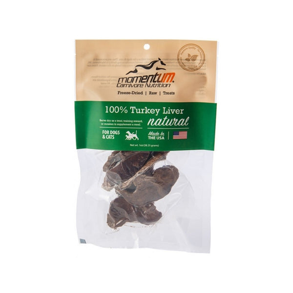Carnivore Nutrition F-Dried Turkey Liver, 1oz