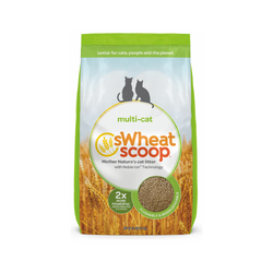 Multi-Cat sWheat Scoop Litter Weight : 25lb