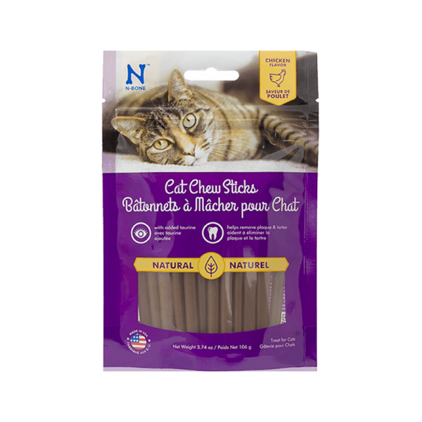 N-Bone Cat Chew Sticks, 3.74oz