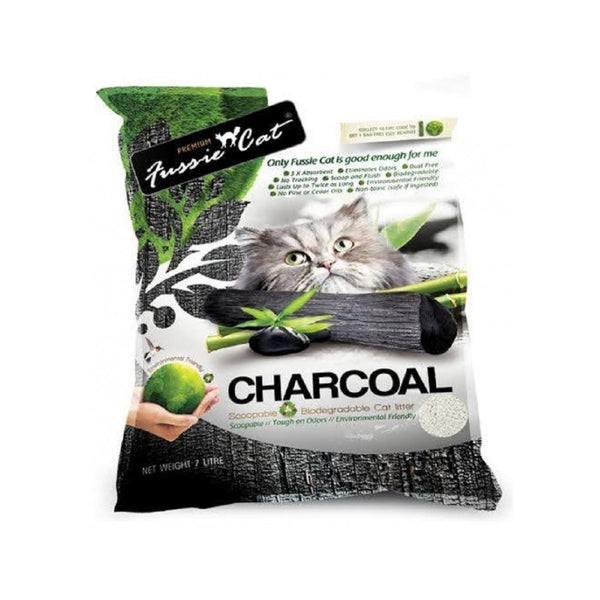 Natural Charcoal Paper Cat Litter, 7L