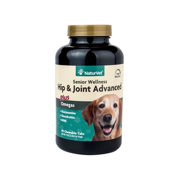 Canine Senior Wellness Hip & Joint Advanced Counts, 40 Chewable Tabs