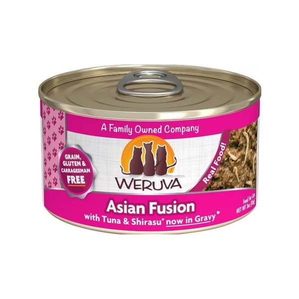 Asian Fusion w/ Tuna & Shirasu in Gravy Weight : 3oz