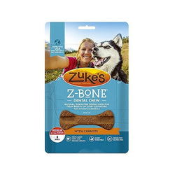 Z-Bones Clean Carrot Crunch, Grain-Free for Dogs Size : Regular