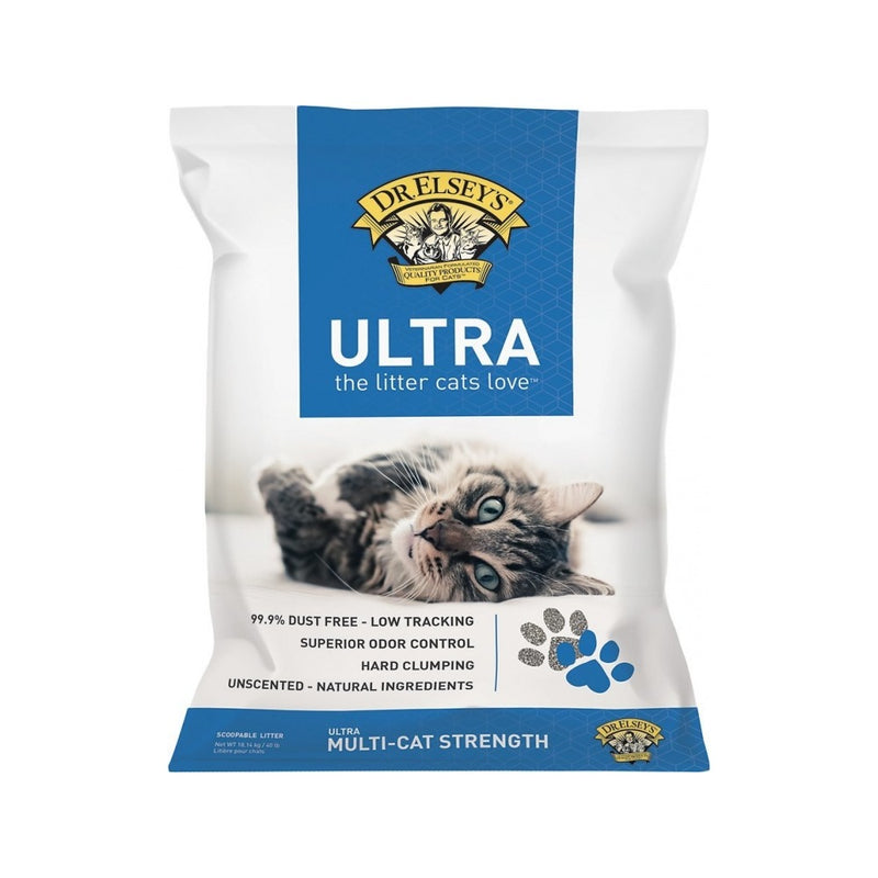 Precious Cat Litter Ultra Unscented, 18lb