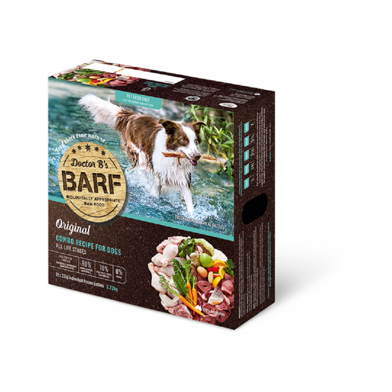 Canine Raw BARF Combo, 227g x 12