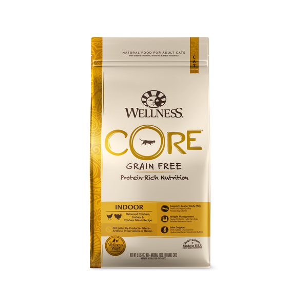 Feline Core Indoor Recipe Dry Food, 5lb