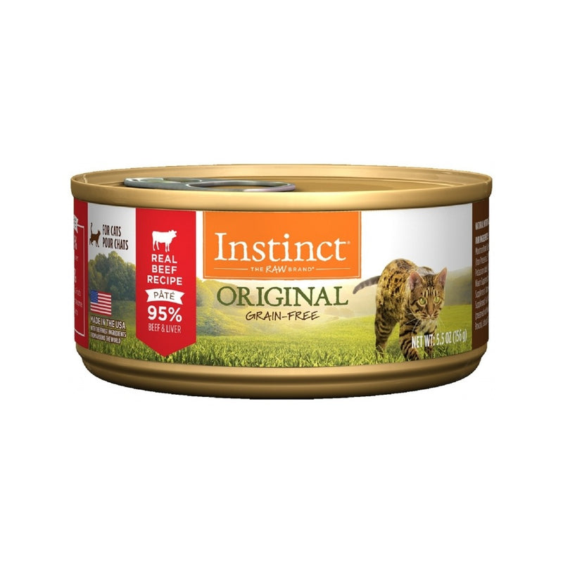 Feline Instinct Original G.F Beef Can, 5.5oz