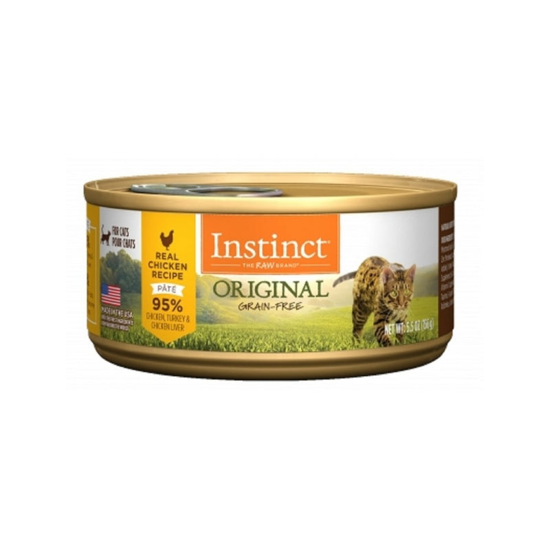 Feline Instinct Original G.F Chicken Can, 5.5oz