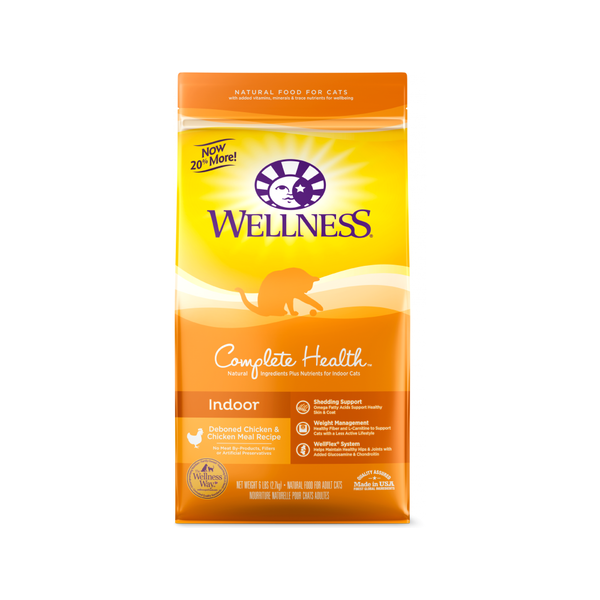 Feline Complete Health Indoor Recipe Weight : 6lb