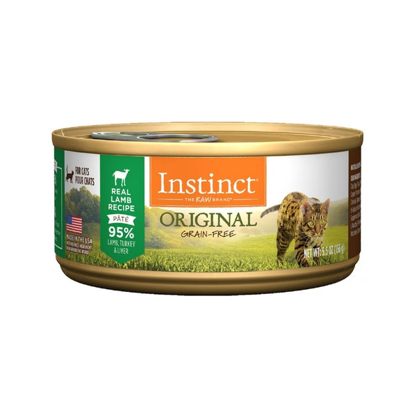 Feline Instinct Original G.F Lamb Can, 5.5oz