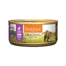 Feline Instinct Original G.F Rabbit Can, 5.5oz