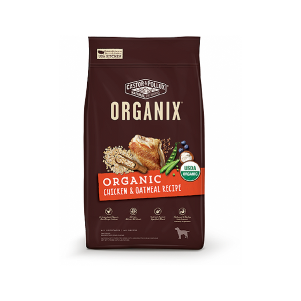 Organix Chicken & Oatmeal, 18lb