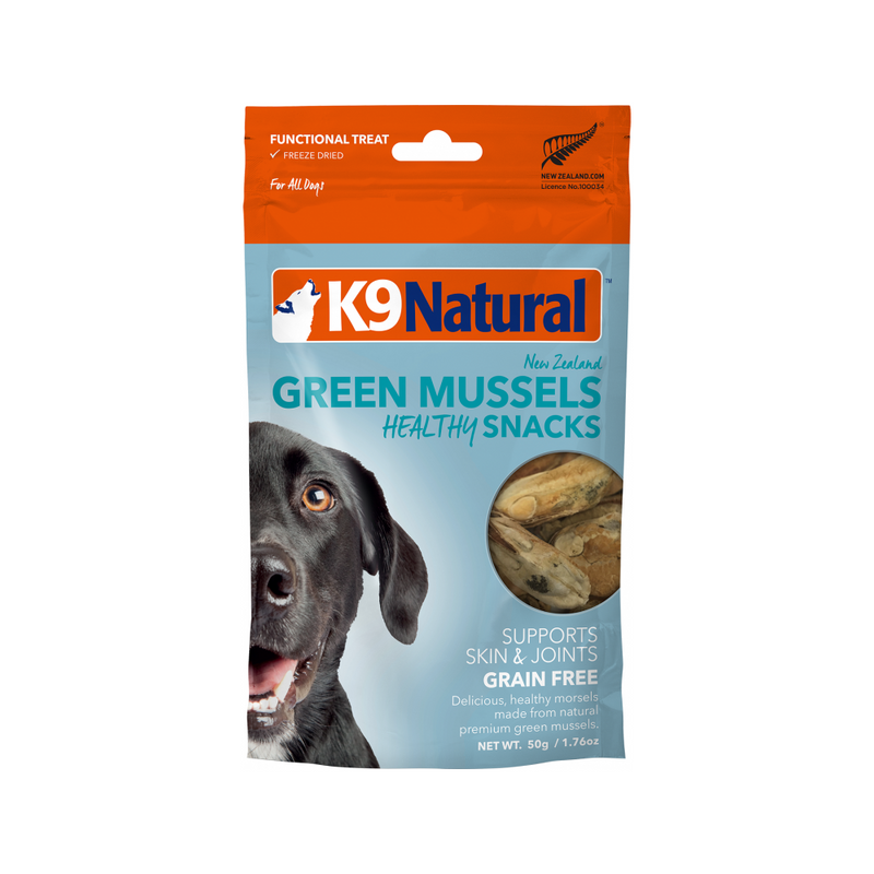 Ocean Farmed Green Mussel Bites, 50g