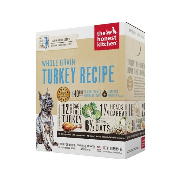 Whole Grain Turkey Recipe Dehydrated Dog Food, 4lb
