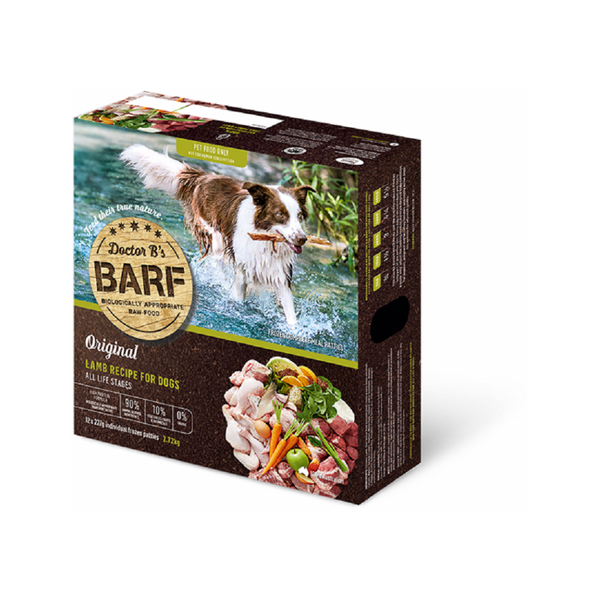 Canine Raw BARF - Lamb Weight : 2.72kg x 12
