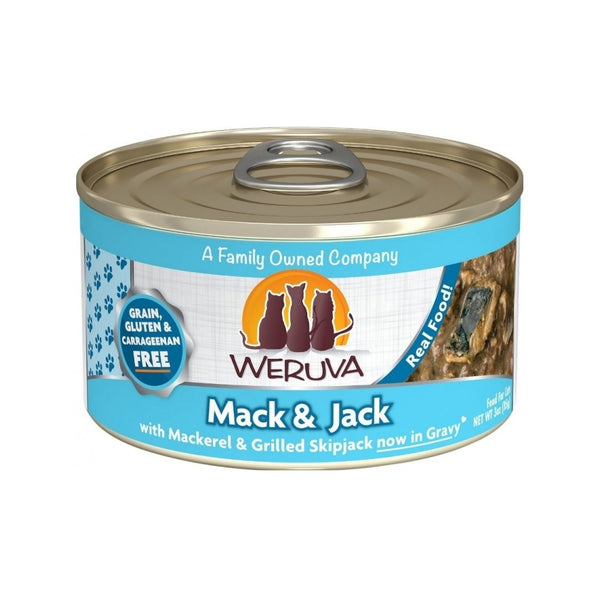 Mack & Jack w/ Mackerel & Grilled Skipjack, 5.5oz