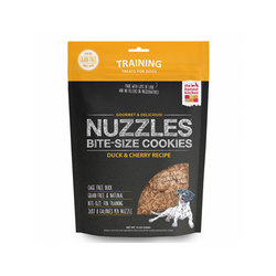 Nuzzles, Duck and Cherry Cookies Weight : 12oz