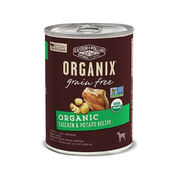 Organic Grain Free Chicken & Potato Weight : 12.7oz