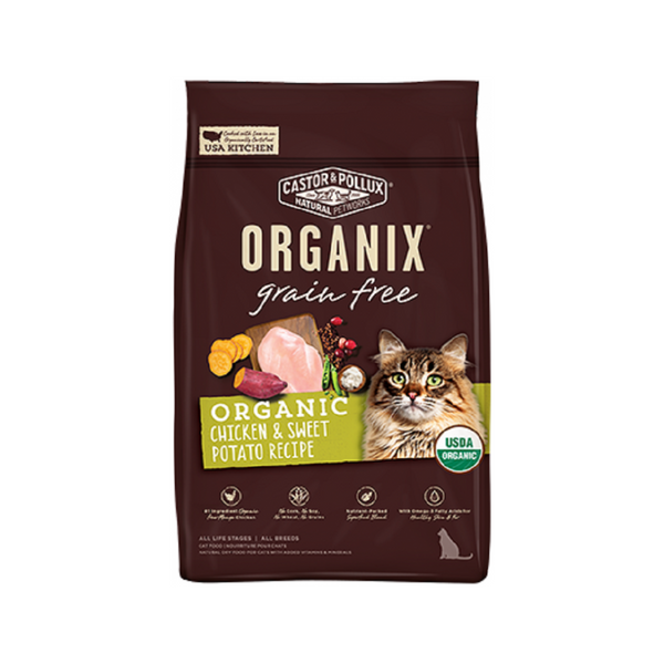 Feline Organix Grain Free Chicken & Sweet Potato, 3lb