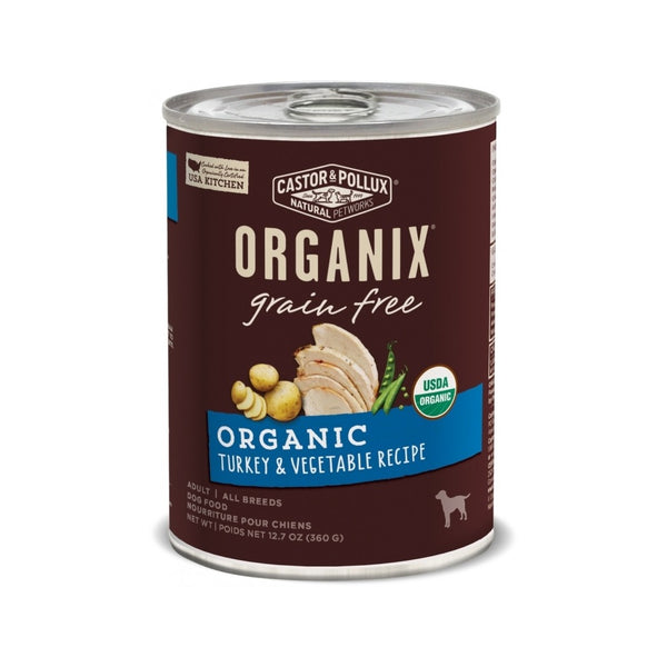 Organic Grain Free Turkey & Vegetable, 12.7oz
