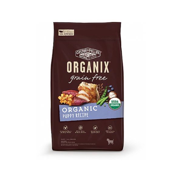 Organic Grain-Free Puppy Recipe, 4lb