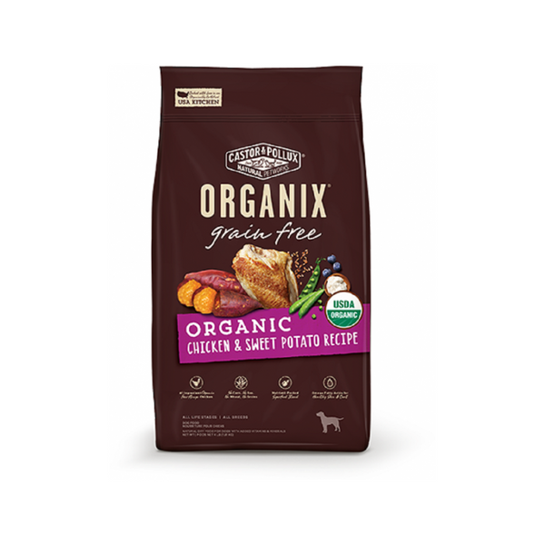 Organix Grain Free Chicken & Sweet Potato, 18lb
