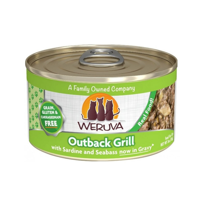 Outback Grill w/ Trevally & Barramundi, 5.5oz