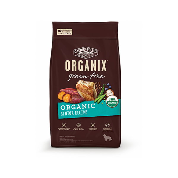 Organic Grain-Free Senior Recipe, 4lb