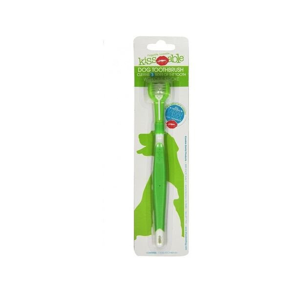 3-Head Toothbrush for Dogs Size : Regular