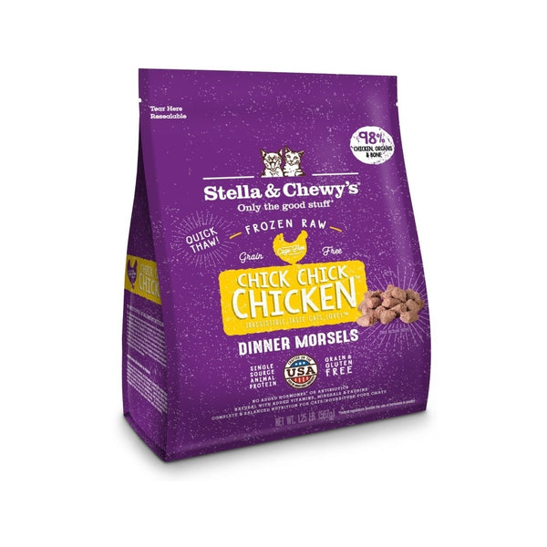 Feline Frozen Chicken, 1.25lb