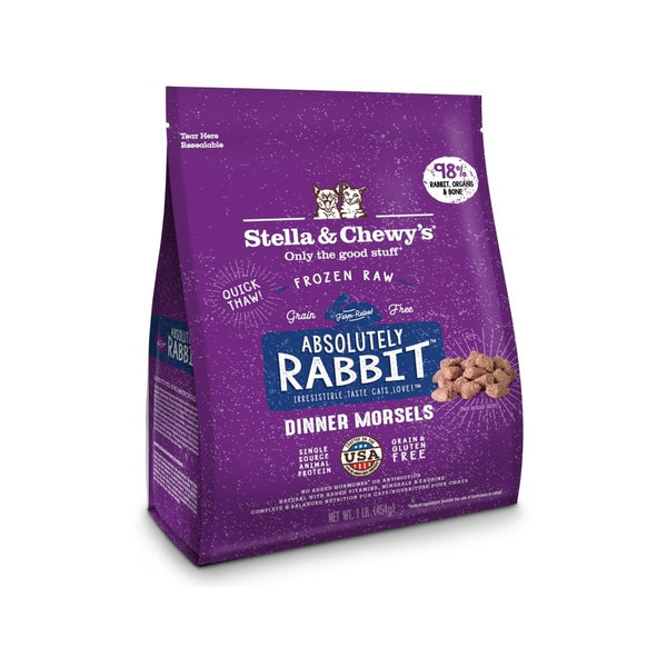 Feline Frozen Rabbit, 1lb