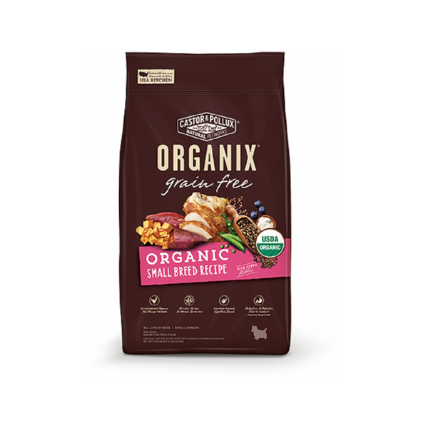 Organic Grain-Free Small Breed Recipe, 10lb