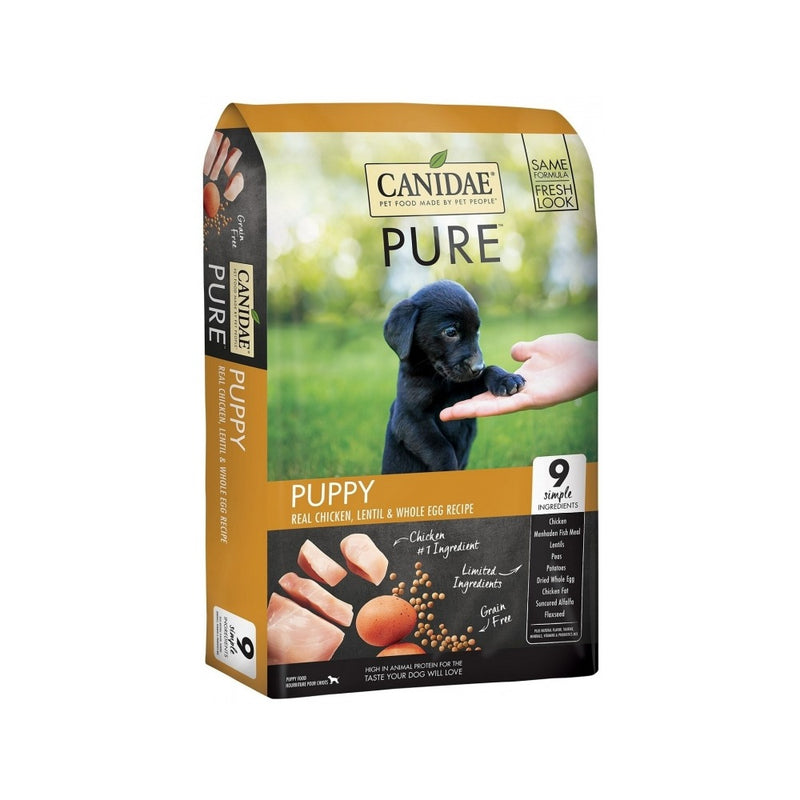 PURE Puppies Real Chicken & Lentil for Dogs, 24lb