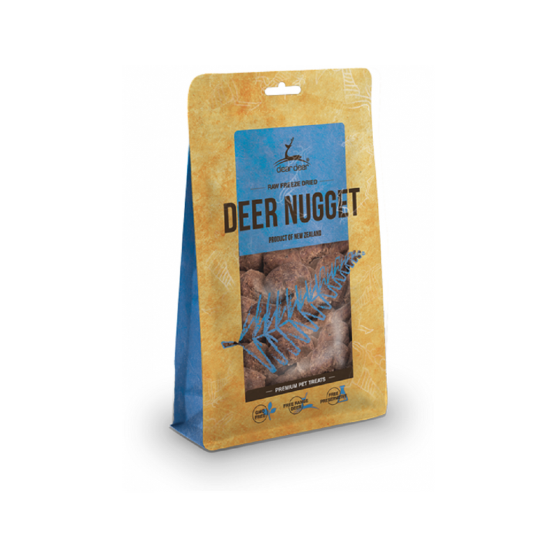 Deer Nugget Treats for Dogs Weight : 80g